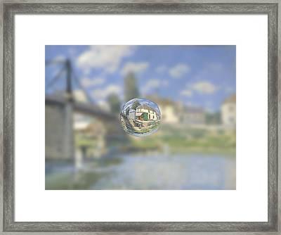Sphere 18 Sisley Framed Print