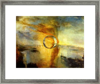 Sphere 26 Turner Framed Print