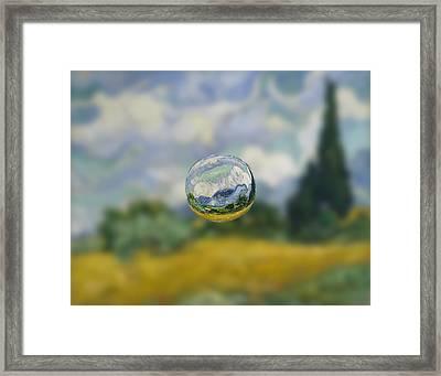 Sphere 7 Van Gogh Framed Print