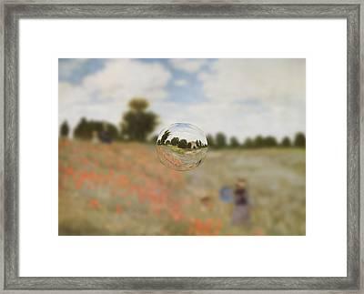 Sphere 9 Monet Framed Print