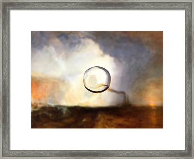 Sphere I Turner Framed Print