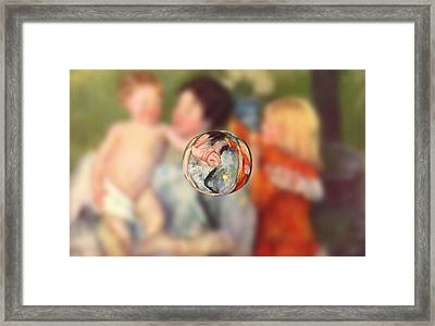 Sphere II Cassatt Framed Print by David Bridburg