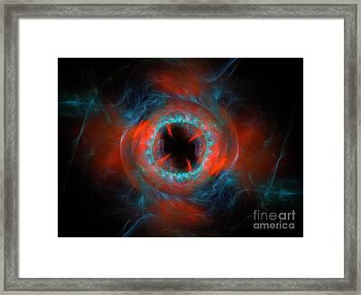 Sphere Of Contradiction Framed Print