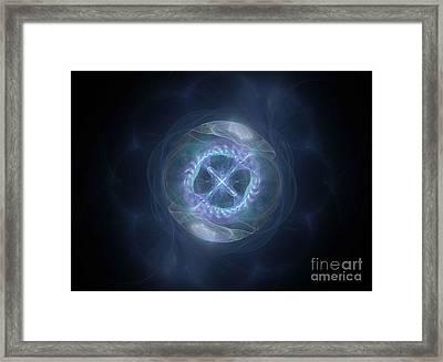 Sphere Of Spirituality Framed Print by Amy M Art Studio