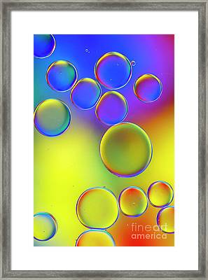 Spherematic Framed Print by Tim Gainey