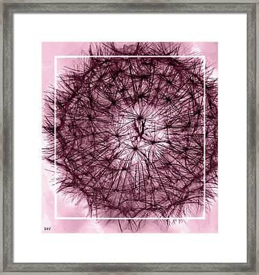 Spheres Of Color Framed Print by Debra     Vatalaro