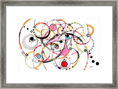 Spheres Of Influence Framed Print