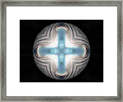 Spheres Framed Print by Raynard Cantwell