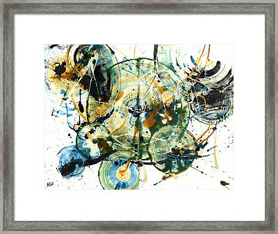 Spherical Joy Series 170.171.011011 Framed Print by Kris Haas