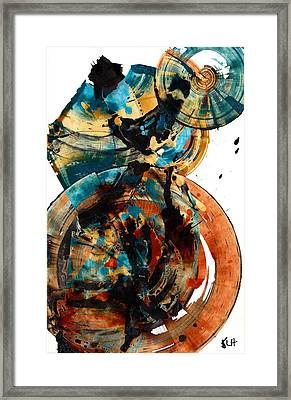 Spherical Joy Series 208.012011 Framed Print by Kris Haas
