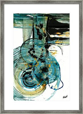Spherical Joy Series 210.012011 Framed Print by Kris Haas