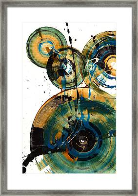 Spherical Joy Series 46.040511 Framed Print by Kris Haas