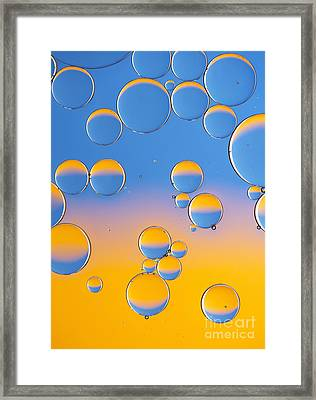 Sphericalization Framed Print by Tim Gainey