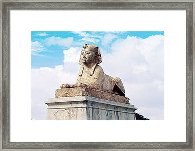 Sphinx Framed Print by Cassandra Buckley