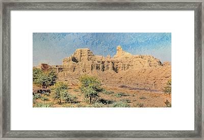 Sphinx Of Hungol National Park Framed Print by Syed Muhammad Munir ul Haq