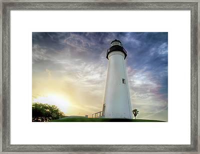 Spi Light Framed Print
