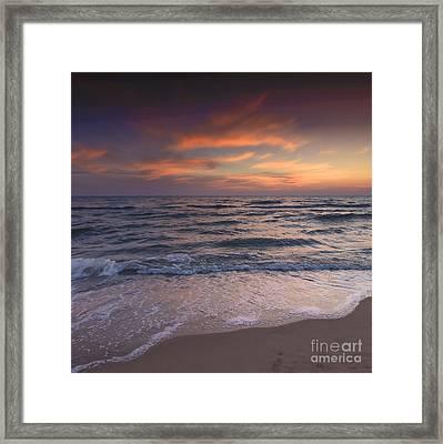 Spiaggia Estiva - Summer Beach Framed Print by Marco Crupi