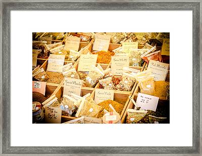 Framed Print featuring the photograph Spice Of Life by Jason Smith