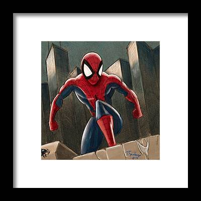 Comics Framed Prints
