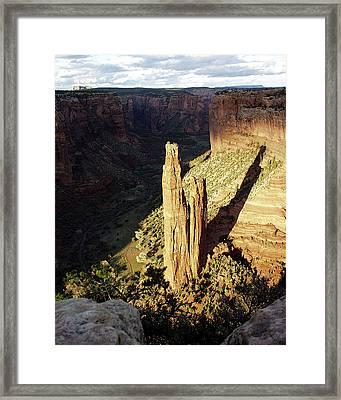 Spider Rock 7  Framed Print by Jeff Brunton