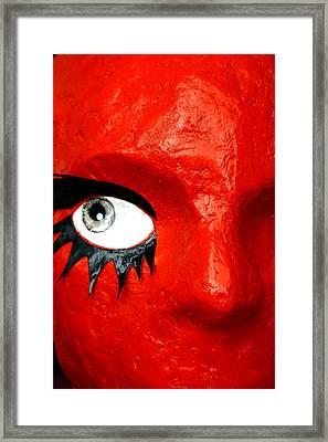 Spidereye Framed Print by Jez C Self