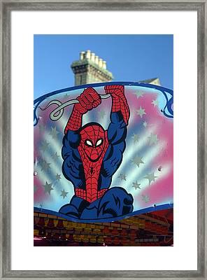 Spidey 2 Framed Print by Jez C Self