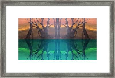 Spiegelungen Framed Print by Amrei Al-Tobaishi-Jarosch
