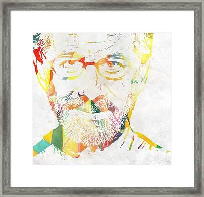 Spielberg Framed Print