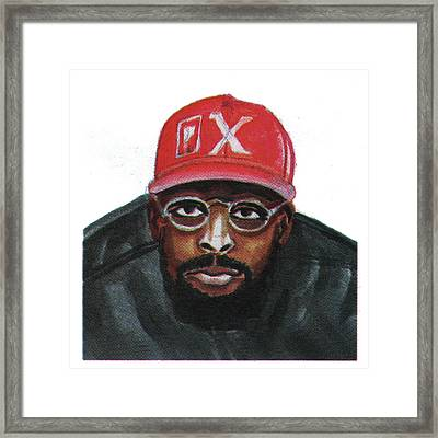 Spike Lee Framed Print