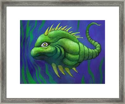 Spike Framed Print by Vance Naegle