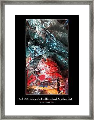 Spill 228 Framed Print