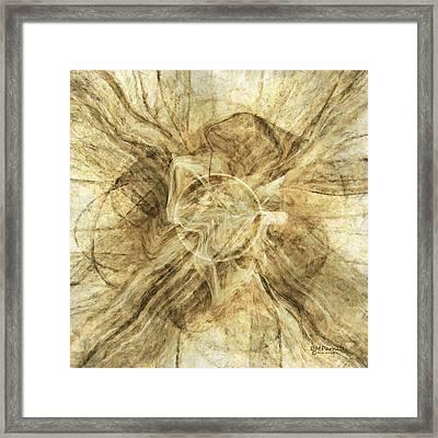 Spilled Coffee Framed Print