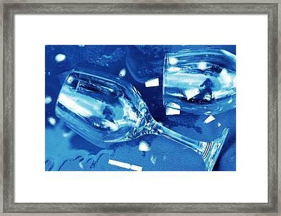 Spilled Water Framed Print