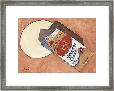 Spilt Milk Framed Print by Ken Powers