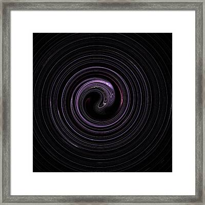 Spin Cycle 01 Framed Print