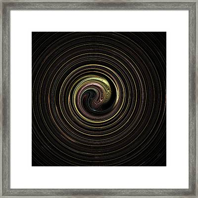 Spin Cycle 02 Framed Print