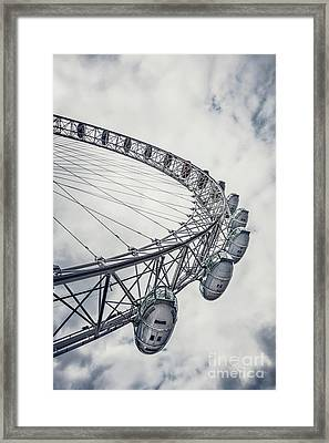 Spin Me Around Framed Print by Evelina Kremsdorf