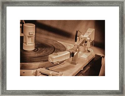 Spin Framed Print by Pamela Williams