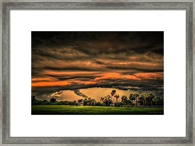 Spin-up Framed Print by Marvin Spates