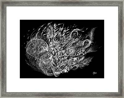 Spindrift Framed Print