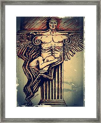 Spine Framed Print by Paulo Zerbato