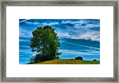 Sping Landscape In Nh 3 Framed Print by Edward Myers