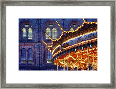 Spinning Away Framed Print by Jez C Self