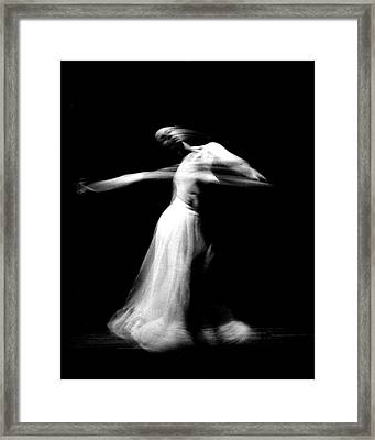 Spinning Dance Framed Print by Gerhardt Isringhaus