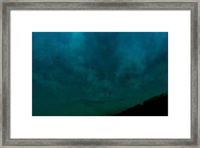 Spinning Mind Framed Print