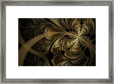 Spinning Splits Framed Print by Hal Tenny