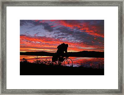Spinning The Wheels Of Fortune Framed Print