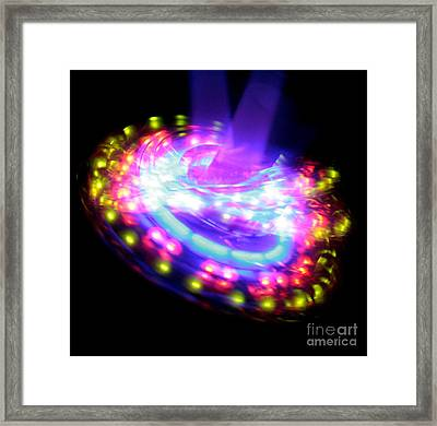 Spinning Top 2  Framed Print