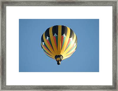 Framed Print featuring the digital art Spinning Top by Gary Baird