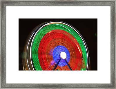 Spinning Wheels Framed Print by James BO  Insogna